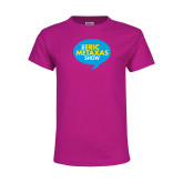 Youth Cyber Pink T Shirt-The Eric Metaxas Show