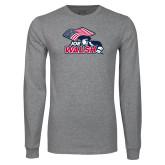 Grey Long Sleeve T Shirt-Joe Walsh