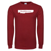 Cardinal Long Sleeve T Shirt-Hugh Hewitt