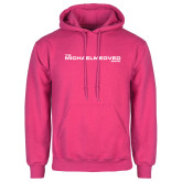 Fuchsia Fleece Hoodie-The Michael Medved Show