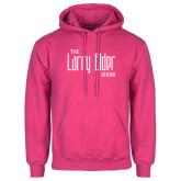 Fuchsia Fleece Hoodie-The Larry Elder Show