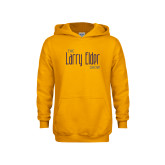 Youth Gold Fleece Hoodie-The Larry Elder Show