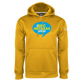 Under Armour Gold Performance Sweats Team Hoodie-The Eric Metaxas Show