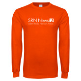 Orange Long Sleeve T Shirt-Salem Radio Network News