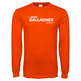 Orange Long Sleeve T Shirt-The Mike Gallagher Show
