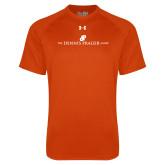 Under Armour Orange Tech Tee-The Dennis Prager Show