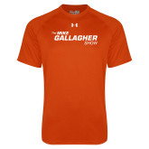 Under Armour Orange Tech Tee-The Mike Gallagher Show