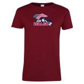 Ladies Cardinal T Shirt-Joe Walsh