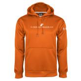 Under Armour Orange Performance Sweats Team Hoodie-The Dennis Prager Show