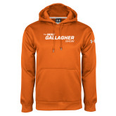 Under Armour Orange Performance Sweats Team Hoodie-The Mike Gallagher Show