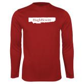 Performance Cardinal Longsleeve Shirt-Hugh Hewitt
