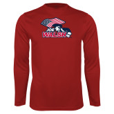 Performance Cardinal Longsleeve Shirt-Joe Walsh