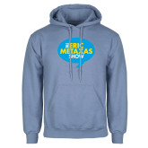 Light Blue Fleece Hoodie-The Eric Metaxas Show