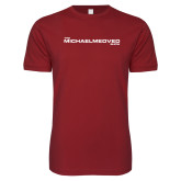 Next Level SoftStyle Cardinal T Shirt-The Michael Medved Show
