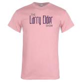 Light Pink T Shirt-The Larry Elder Show