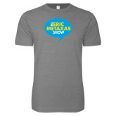 Next Level SoftStyle Heather Grey T Shirt-The Eric Metaxas Show