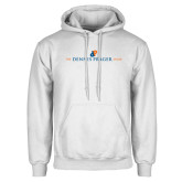 White Fleece Hoodie-The Dennis Prager Show
