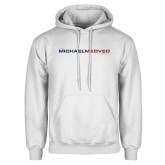 White Fleece Hoodie-The Michael Medved Show