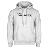 White Fleece Hoodie-The Mike Gallagher Show
