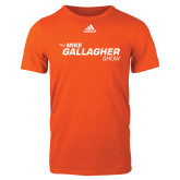 Adidas Orange Logo T Shirt-The Mike Gallagher Show