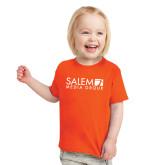 Toddler Orange T Shirt-Media Group