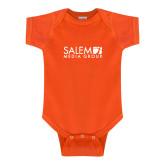 Orange Infant Onesie-Media Group