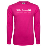 Hot Pink Long Sleeve T Shirt-Salem Radio Network News