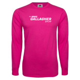 Hot Pink Long Sleeve T Shirt-The Mike Gallagher Show