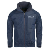 Navy Charger Jacket-Salem Radio Network News