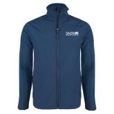 Navy Softshell Jacket-Media Group