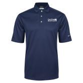 Nike Golf Tech Dri Fit Navy Polo-Media Group