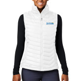 Columbia Lake 22 Ladies White Vest-Media Group