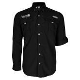 Columbia Bahama II Black Long Sleeve Shirt-Media Group