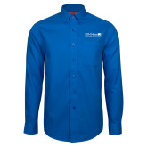 Red House French Blue Long Sleeve Shirt-Salem Radio Network News