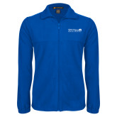 Fleece Full Zip Royal Jacket-Salem Radio Network News