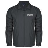 Full Zip Charcoal Wind Jacket-Media Group