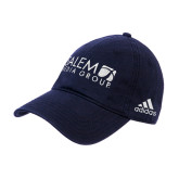 Adidas Navy Slouch Unstructured Low Profile Hat-Media Group