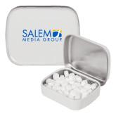 White Rectangular Peppermint Tin-Media Group