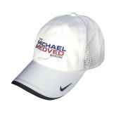 White Nike Hat-