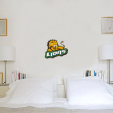 1 ft x 1 ft Fan WallSkinz-Lions w/Lion