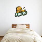 2 ft x 3 ft Fan WallSkinz-Lions w/Lion