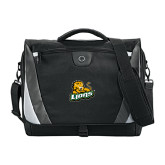Slope Black/Grey Compu Messenger Bag-Lions w/Lion