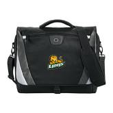 Slope Black/Grey Compu Messenger Bag-Lions w/Lion
