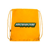Gold Drawstring Backpack-Southeastern