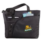 Excel Black Sport Utility Tote-Lions w/Lion