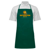 Full Length Dark Green Apron-Mom