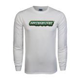 White Long Sleeve T Shirt-Southeastern