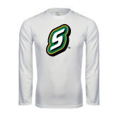 Syntrel Performance White Longsleeve Shirt-S