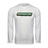 Syntrel Performance White Longsleeve Shirt-Southeastern