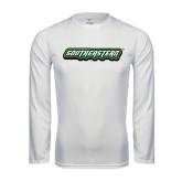 Performance White Longsleeve Shirt-Southeastern